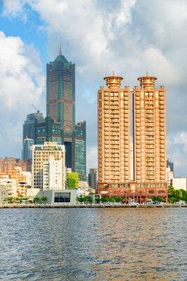 Awesome Kaohsiung skyline, Taiwan. 85 Sky Tower