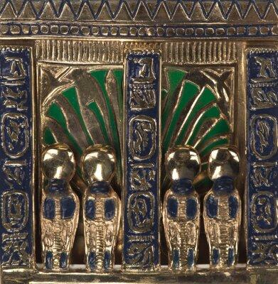 Obraz background ancient golden egyptian pattern