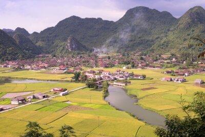 Obraz Bacson Dolina w Wietnamie