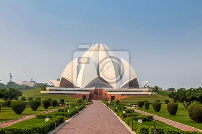 Obraz Bahai Lotus Temple - New Delhi, Indie
