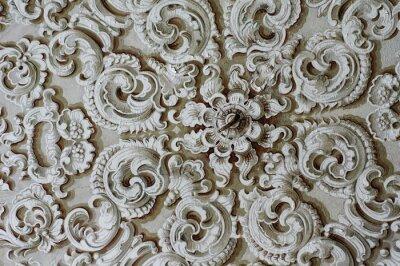 Obraz Barokowy ozdoba szczegół sufit