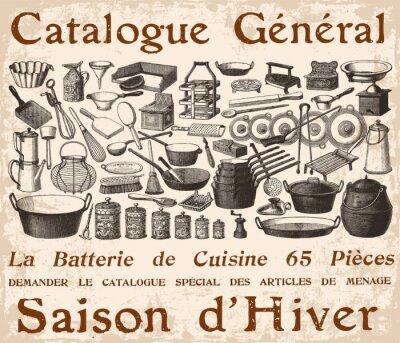 Obraz Batterie de cuisine