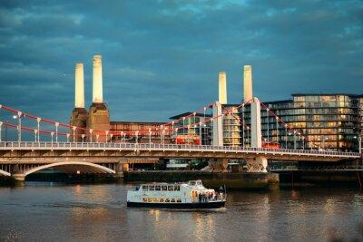Obraz Battersea Power Station w Londynie