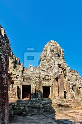 Bayon temple in Angkor Wat complex
