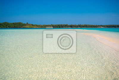 Beach in summer time at an island in Trat Provice, Thailand.