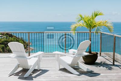 Obraz beach resort sea view