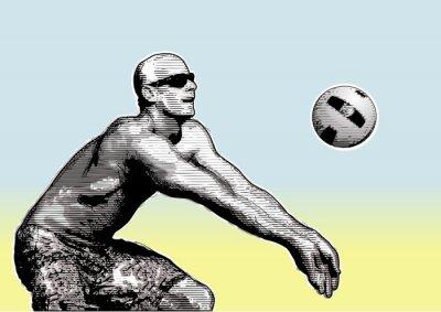Obraz beach volleyball basic 2