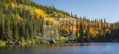 Bear Lake Aspen Hillside Panorama
