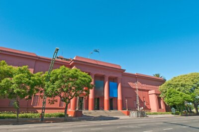 Bellas Artes National Museum at recoleta neighborhood, Buenos Aires