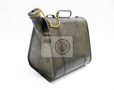 Benzinkanister antiker, Ölkanister