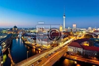Berlin Zobacz na Alexanderplatz