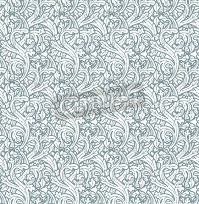 Obraz Bezproblemowa zabytkowe tło Wektor tło dla przemysłu tekstylnego designu. Tapeta, tło, barokowy wzór