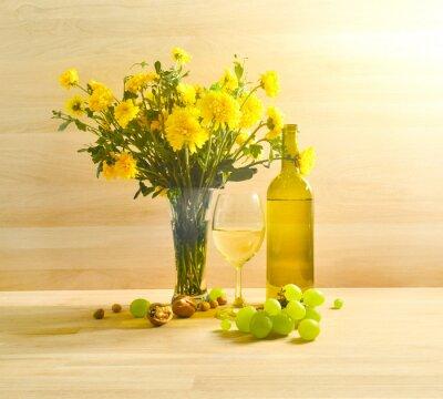 Obraz Białe wino
