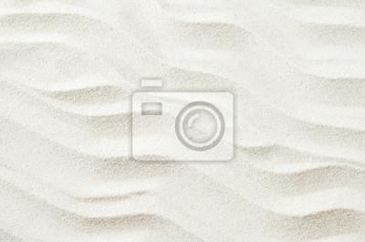 Obraz Biały piasek tekstury tła z fali wzór