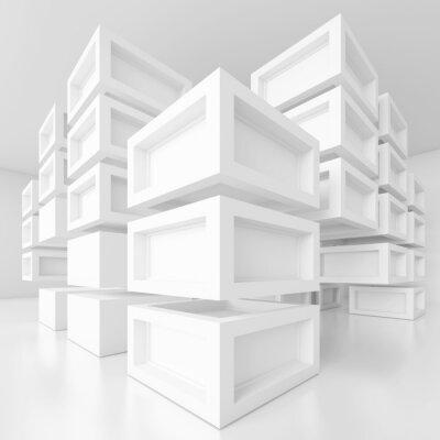 Obraz Biały Technologia Projektowanie
