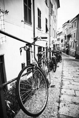 Obraz Biciclette nel vicolo