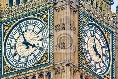 Obraz Big Ben clock tower w Londynie