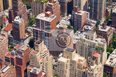 Birds Eye View Downtown City