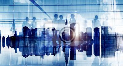 Obraz Biznes Ludzie Komunikacji Korporacyjnej Biuro Dyskusja Planni