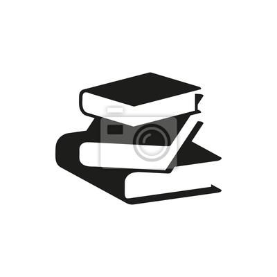 Obraz Black Book prosta ikona