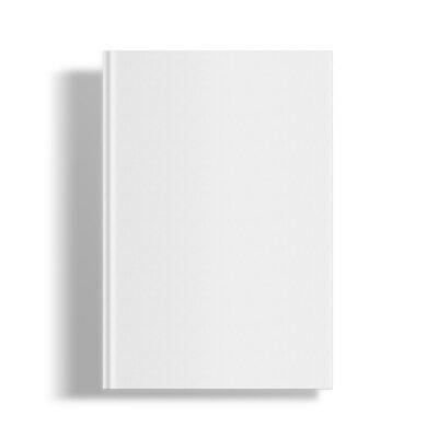 Obraz Blank book cover template.