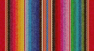 Obraz Blanket stripes seamless vector pattern. Background for Cinco de Mayo party decor or ethnic mexican fabric pattern
