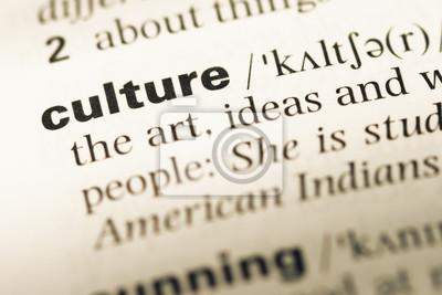 Obraz Bliska starej strony słownik angielsko kulturę słowa