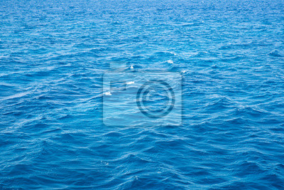 blue background of water