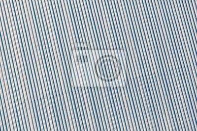 Blue stonowanych dachu z blachy falistej przemysłowe tło lub textu