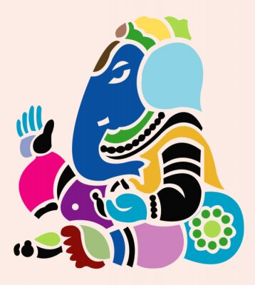 Obraz Bóg Ganesha