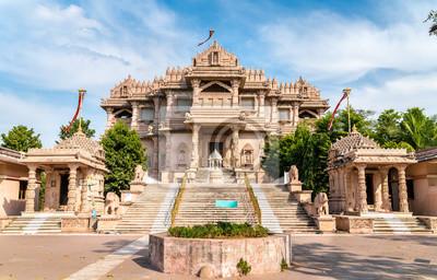 Obraz Borij Derasar, świątynia Jain w Gandhinagar - Gujarat, Indie