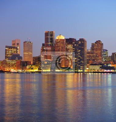Obraz Boston miejskich budynków