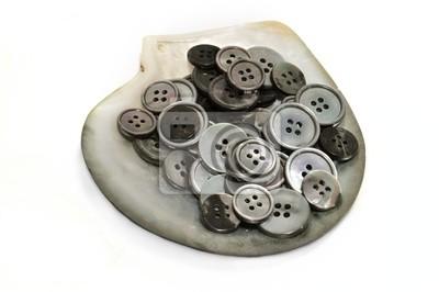 botones de Nacar en Concha de Nacar