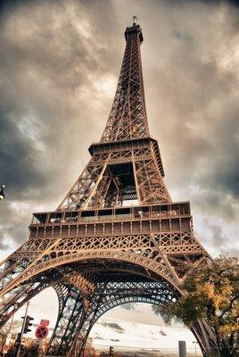 Bottom-Up widok z wieży Eiffla, Paryż
