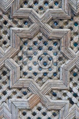 Obraz Bou Inania Madrasa w Fez, Maroko