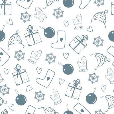 Boże Narodzenie wektor wydruku
