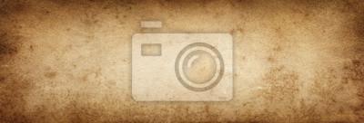 Obraz Brązowy papier. Starodawny stary tło