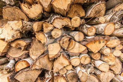 Brennholz alt