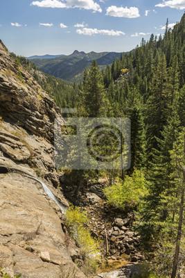 Bridal Veil Falls i Lumpy Ridge