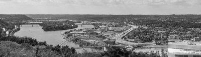 Obraz Bridges and Cityscape of Pittsburgh