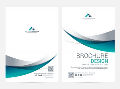 Brochure Layout template, cover design background