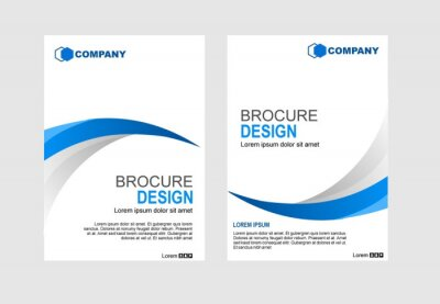 Brochure Layout template, cover design background.vector design