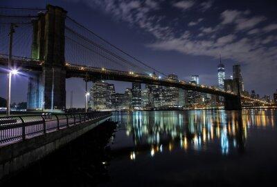 Obraz Brooklyn Bridge. New York. Stany Zjednoczone