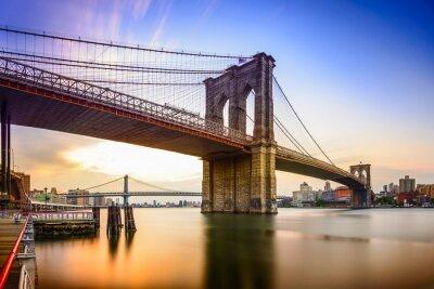 Obraz Brooklyn Bridge, Nowy Jork, USA
