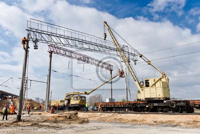 Budowa kolei w Kijowie, Ukraina