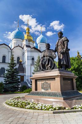Budowniczowie Kazaniu Kremla Pomnik
