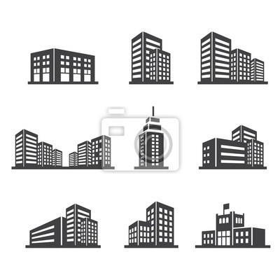 Obraz Budynek ikona