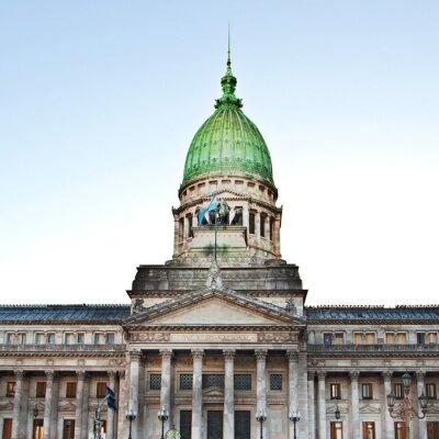 Obraz Budynek Kongresu w Buenos Aires, Argentyna