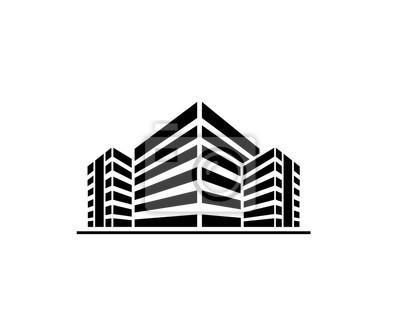 Obraz Budynki logo
