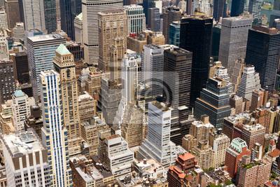 Budynki miejskie Tła New York